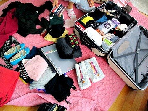 """Những kinh nghiệm """"VÀNG"""" sắp xếp đồ trước khi đi du học Nhật Bản4"""